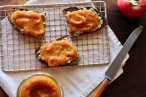 Apple Pumpkin Butter toast