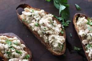 photo image of tuna picatta taste