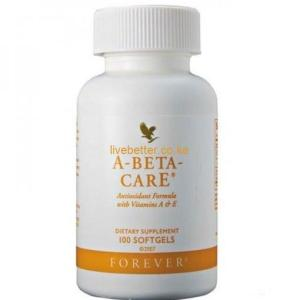 Forever A-Beta-Care – Daily Recommended Dosage of Vitamin A, E, Selenium For Healthy Vision, Skin, Prostate & Hair