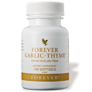 Forever Garlic-Thyme – Natural Extracts for Healthy Cardiovascular System & Body Immunity