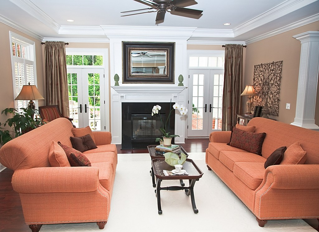 Family Room Battle: Fireplace Vs. Flat Screen TV