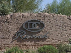 DC Ranch Scottsdale AZ Entrance