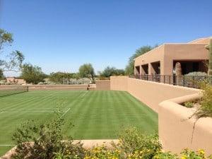 Desert Highlands Racquet Club Grass Court