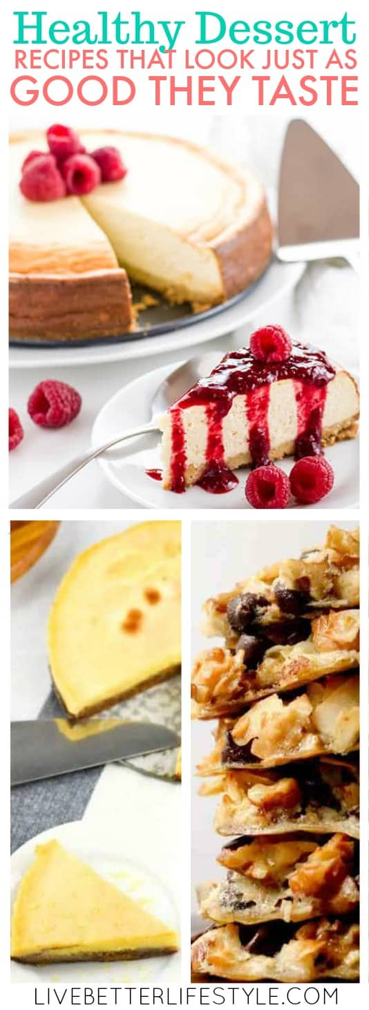 Healthy Dessert Recipes That Look Just As Good As They Taste