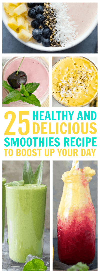 Delicious and Healthy Smoothie Recipes to Boost Up Your Day