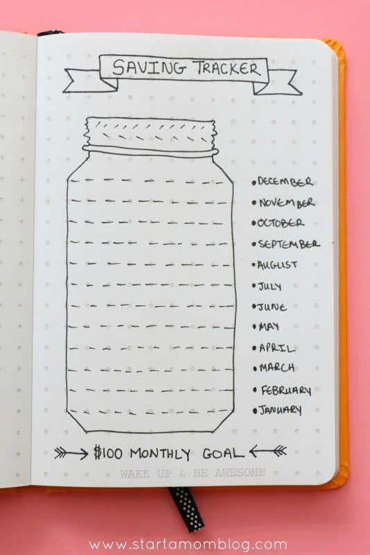 bullet journal ideas to manage personal finance