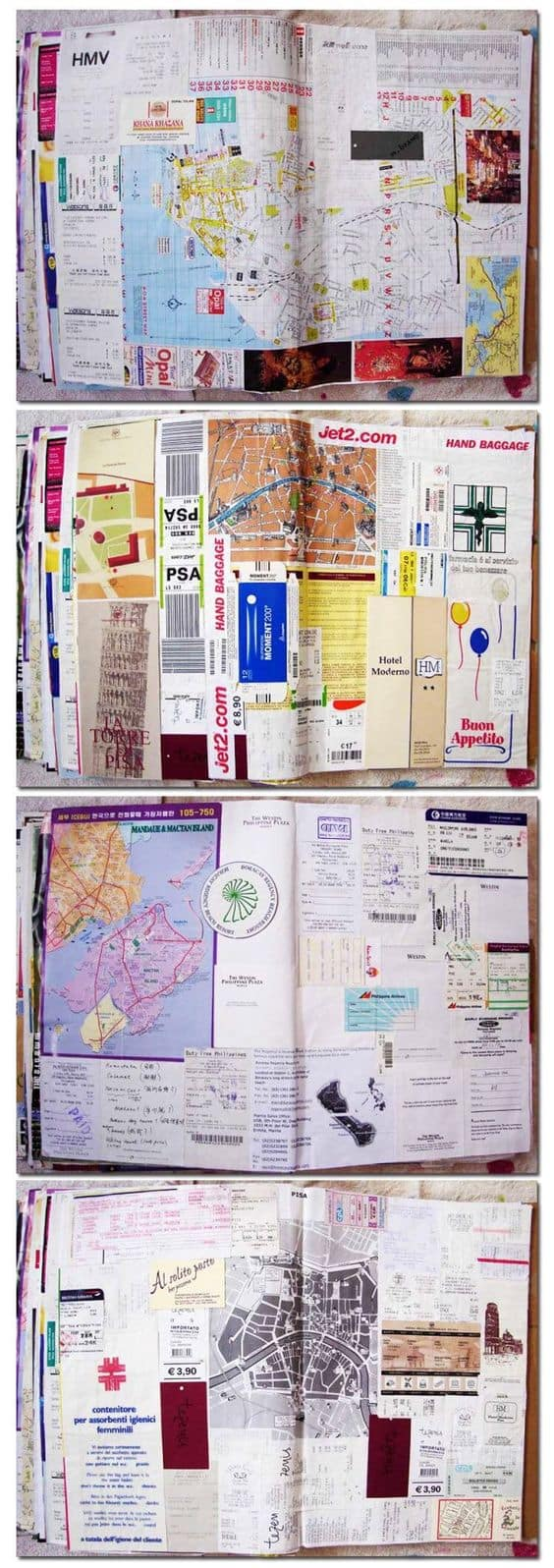 10 DIY Travel Journal Ideas to Keep Your Travelling Memories