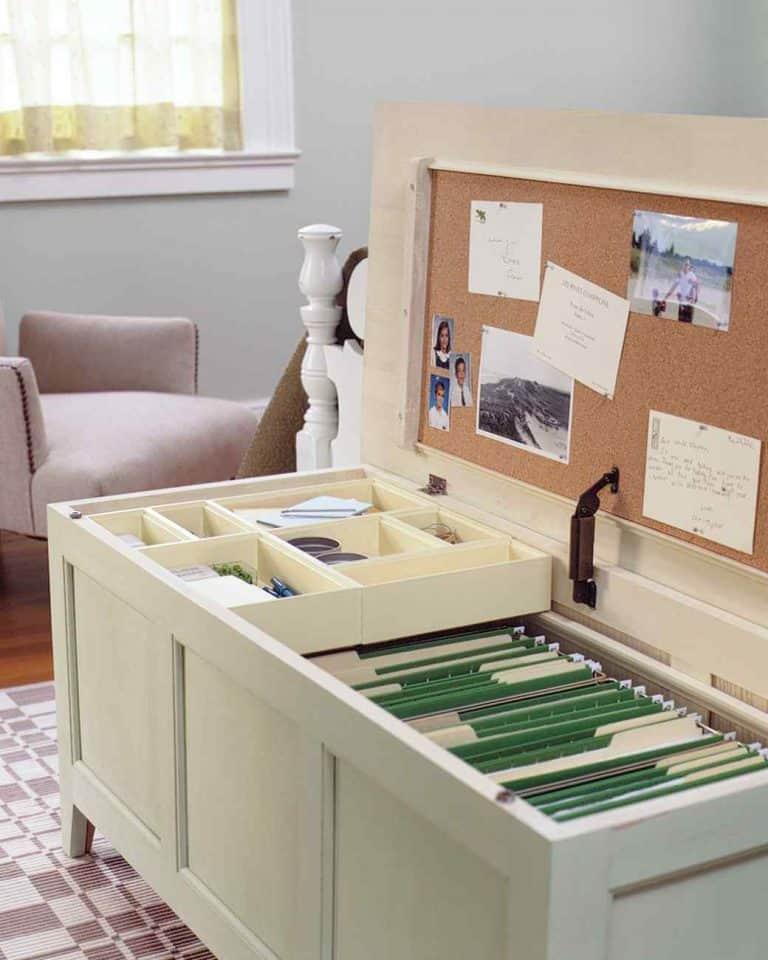 13 Ridiculously Smart Home Office Desk Organization Ideas