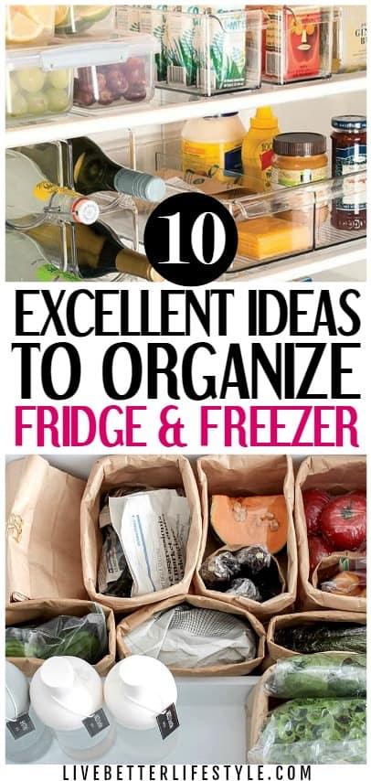 10 Amazingly Genius Fridge Organization Ideas