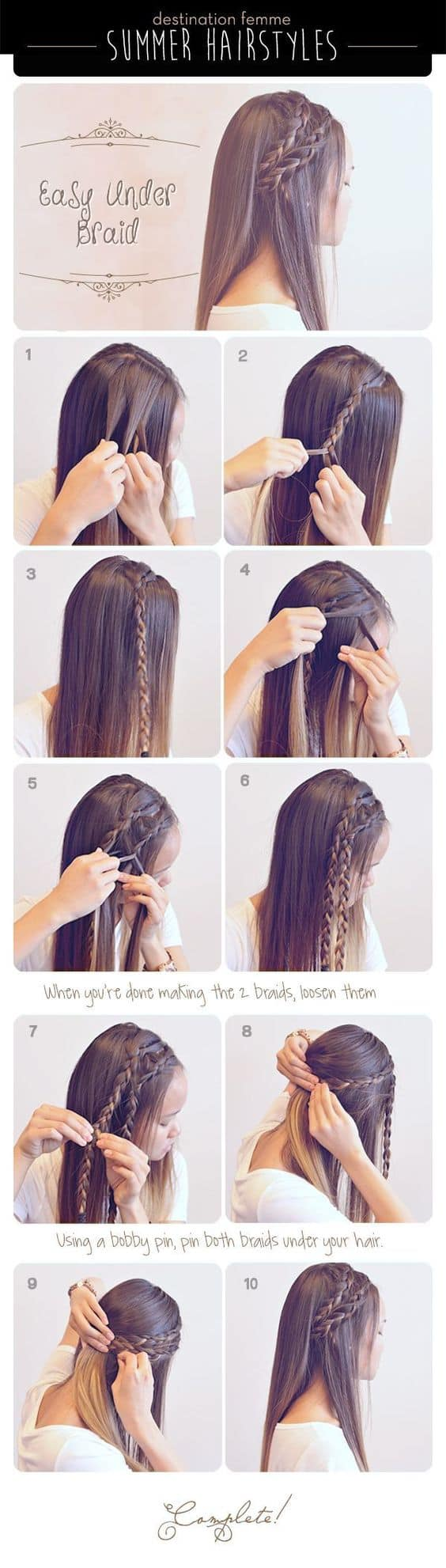 Easy Braided Hairstyles for a Party