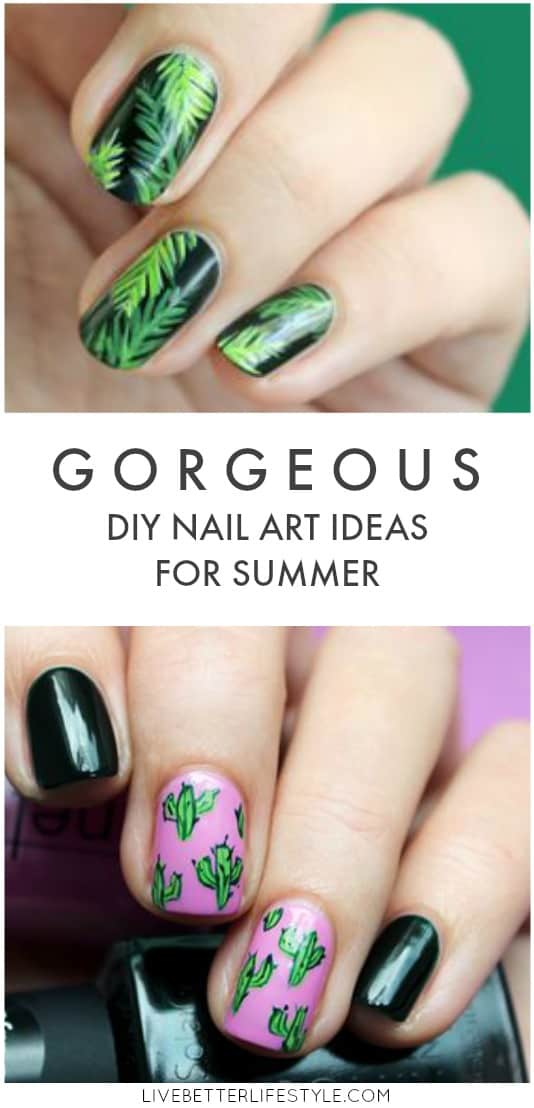 DIY summer nail art ideas