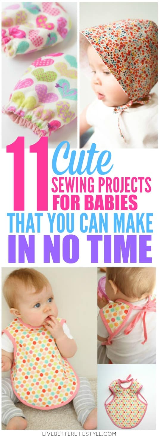 easy sewing projects for babies