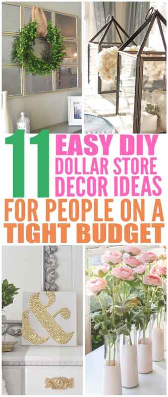 cheap dollar store decor ideas