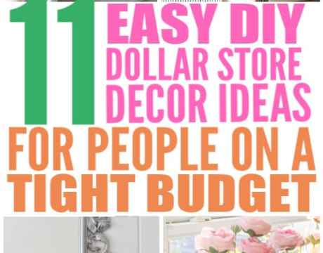 cheap dollar store decor ideas