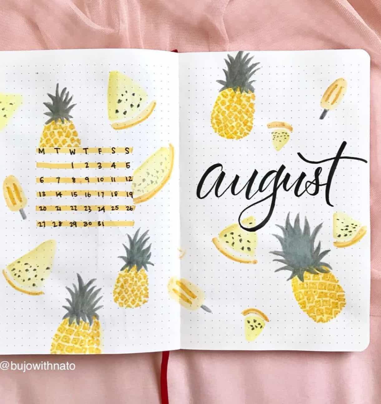 Gorgeous Bullet Journal Calendar Ideas To Copy