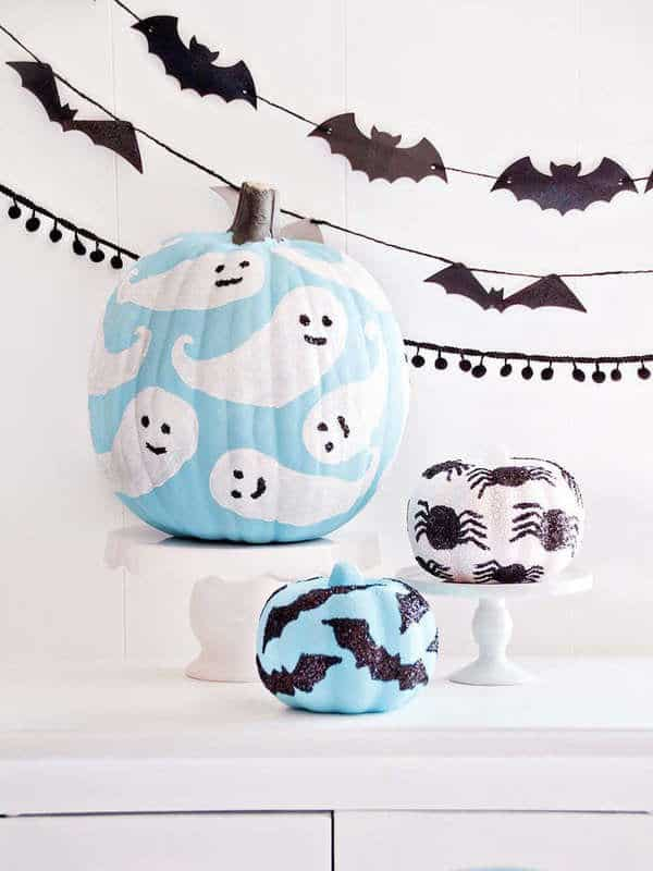 DIY Painted Pumpkin Ideas for Halloween