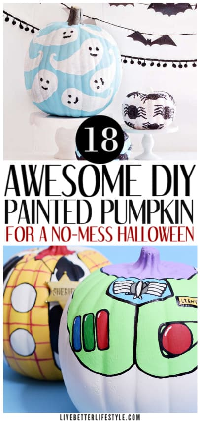 awesome diy painted pumpkin ideas for halloween