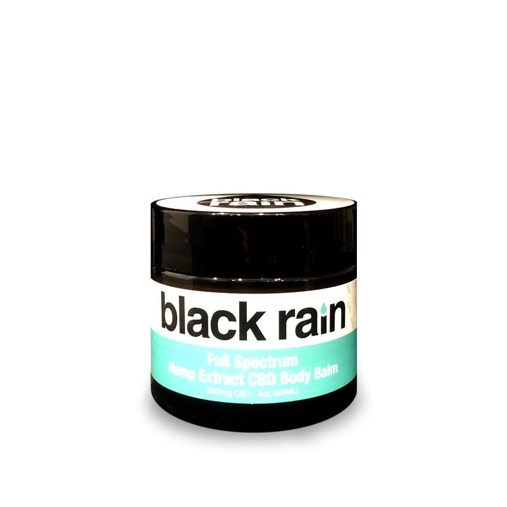 Black Rain Full Spectrum Hemp Extract CBD Body Balm