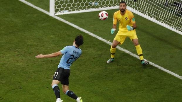 Image result for uruguay vs portugal 2018