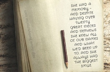 The Grandmother Diaries - Memories and Deaths
