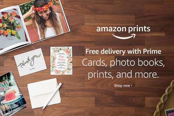 Is Amazon Prints good for photos? YES it is! Plus $1000 of Amazon Gift Cards to be Won! 1