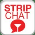 stripchat logo rot weiß