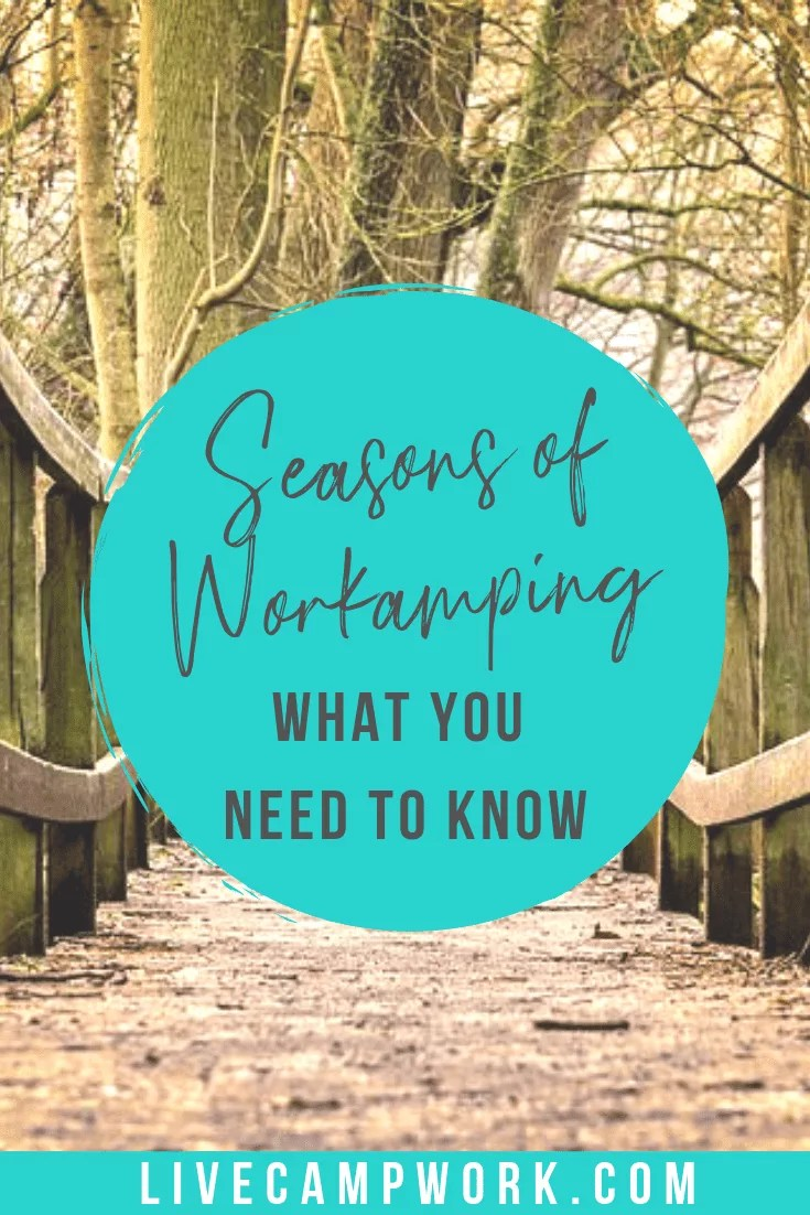 Workamping jobs run in seasons for RVers who want to work as they travel. Private campgrounds in tourist destinations hire RVers to work onsite for a variety of paid and unpaid positions.
