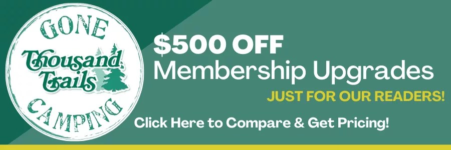 thousand trails membership upgrades discount