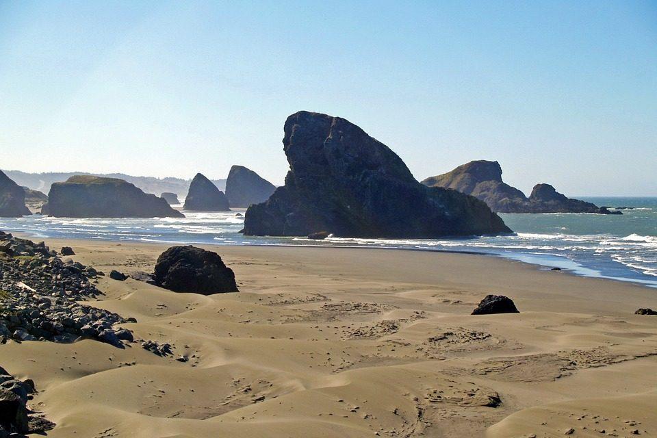 Campsites on the Oregon Coast