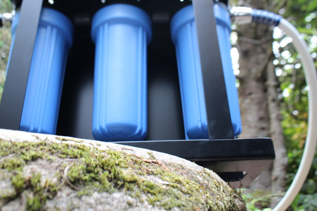 Clearsource Water Filter RV in outdoors