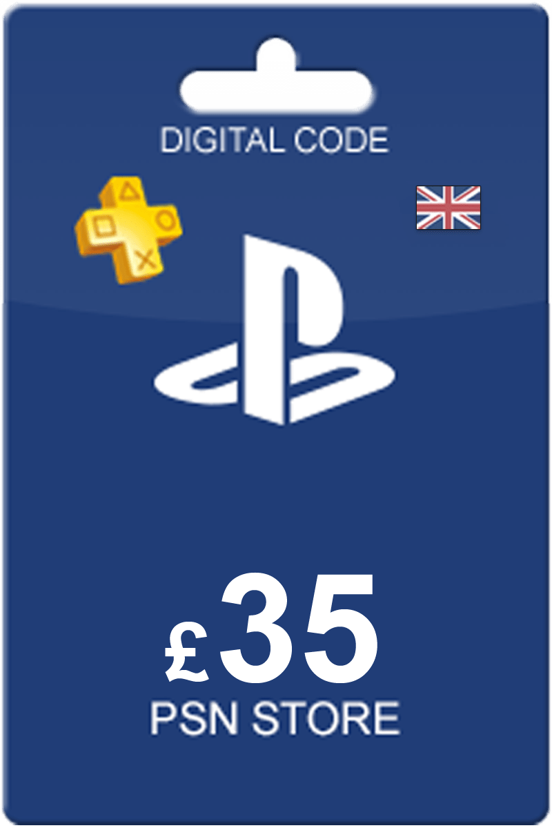 The Cheapest Playstation Network Card 35 GBP In United Kingdom