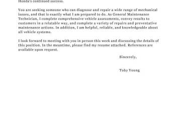 Aircraft Inspector Cover Letter | Best Quality Assurance Cover ...