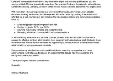 Military Social Worker Cover Letter