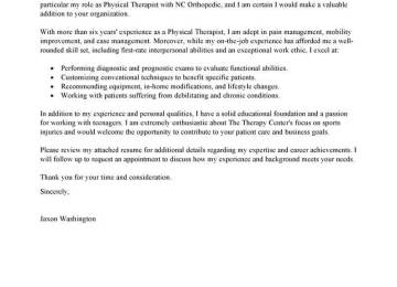 Cover Letter Physical Therapy Pics Resume Example Massage Therapist Sample Spa