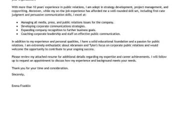 Cover Letter Buzz Words | 10 Cover Letter Samples By People Who Got ...