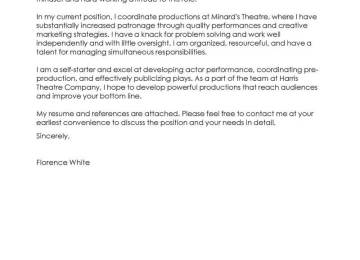 Production Team Leader Cover Letter | How To Write A Cover Letter In ...