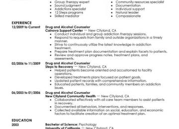 Addiction Counselor Cover Letter Counselor Cover Letter Sample