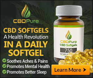 CBD Pure Softgels