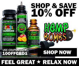Hemp Bombs 10% Off