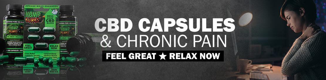 CBD Capsules and Chronic-Pain