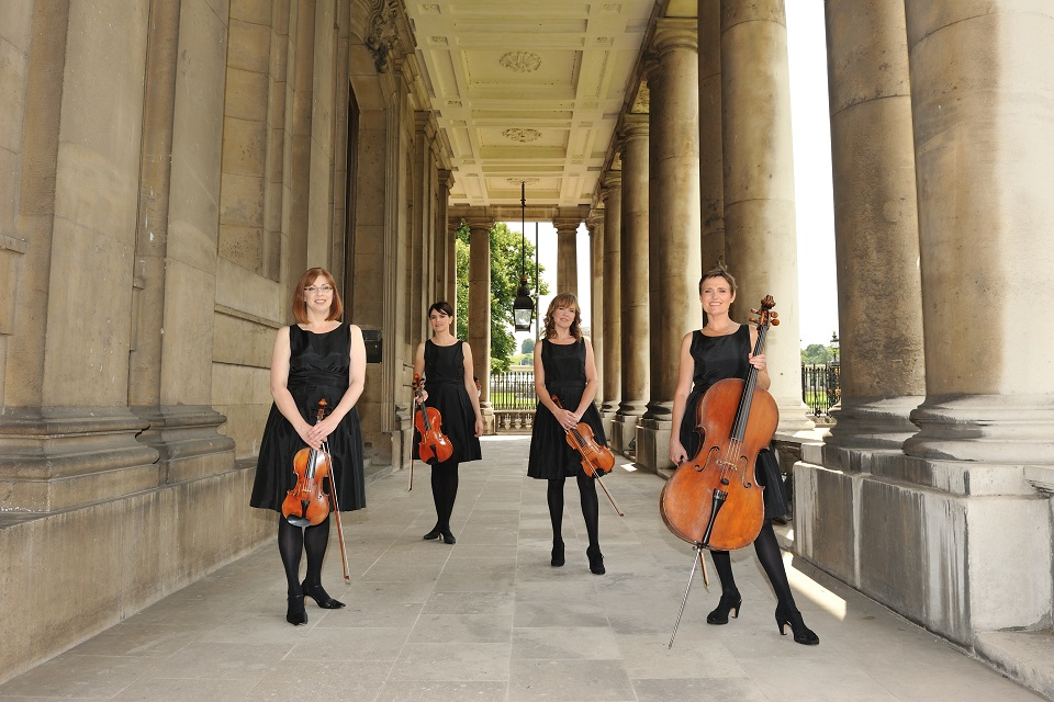 Book An All Ladies String Quartet in London - Music for London