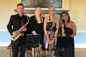 Book A 4 Piece Classical Saxophone Quartet in London - Live Classical Musicians