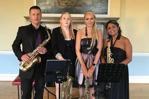 Book A 4 Piece Classical Saxophone Quartet in London - Live Classical Musicians