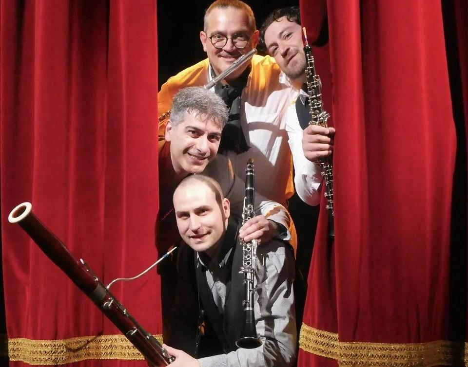 4 Piece Woodwind Ensemble in London Photo by Marina Carlini 1