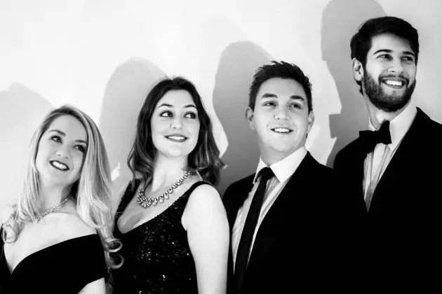 Book A Vocal Accapella Quartet in London - Live Classical Musicians