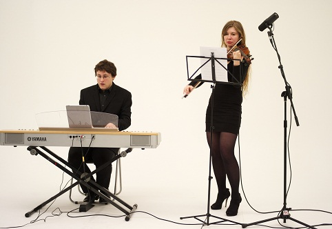 Book A Contemporary Violin & Piano Duo - Live Classical Musicians