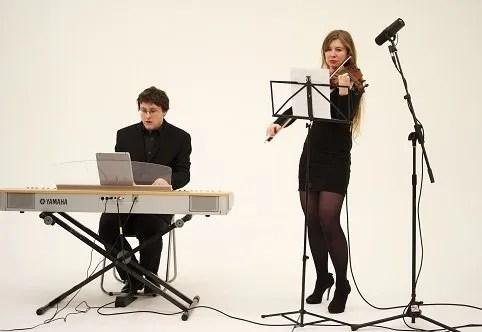 Book A Contemporary Violin & Piano Duo - Live Classical Musicians