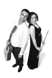 Book A Latin Flute And Guitar Duo in London - Live Classical Musicians