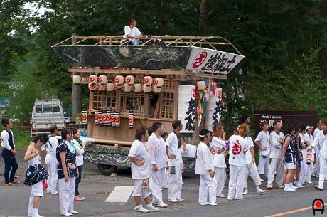 益子祇園祭屋台1の写真