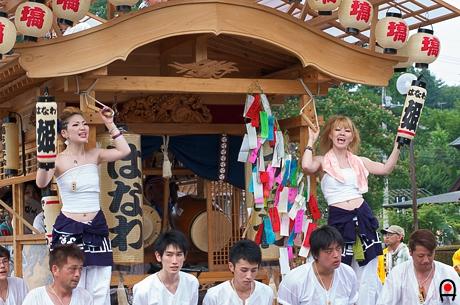 益子祇園祭屋台2の写真